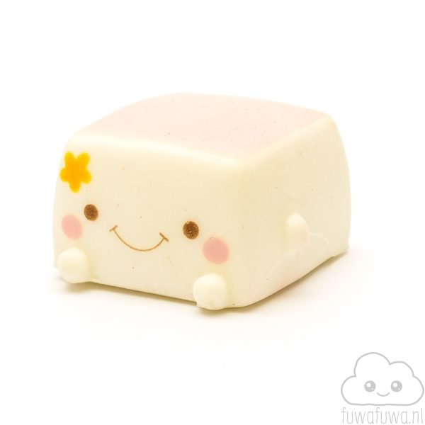 Tofu Squishy Licht Roze