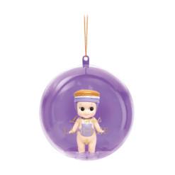 Sonny Angel - Ladurée Christmas Ornament - Macaron Violette