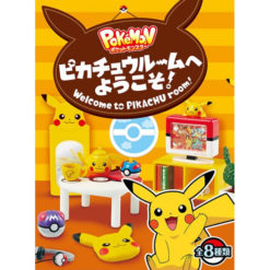 Re-Ment Miniatuur – Pokemon Pikachu Room (Blind Box)