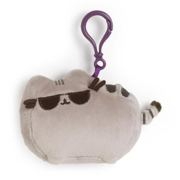 Pusheen met zonnebril Backpack Clip