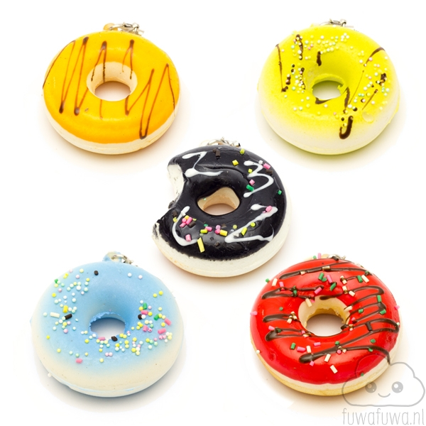 Donut Squishy - FuwaFuwa.nl