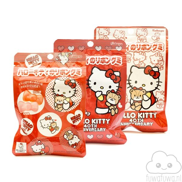 Hello Kitty Ribbon Gummy