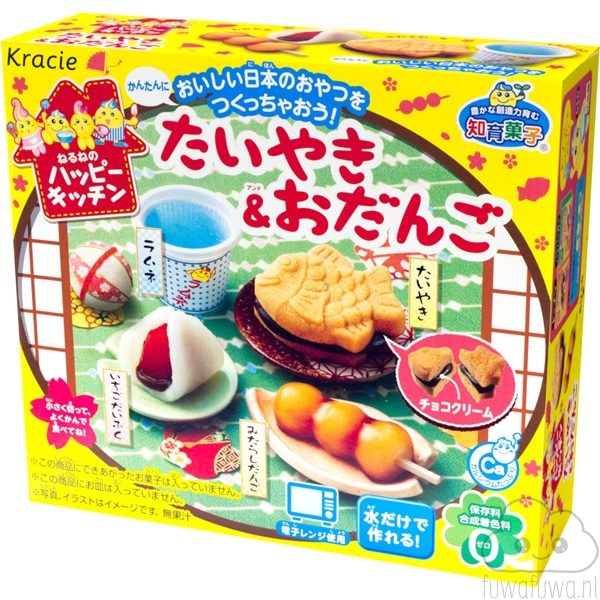 Happy Kitchen - Taiyaki & Odango