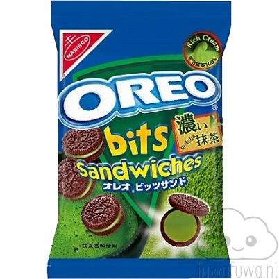 Oreo Bits Sandwiches Matcha Green Tea Latte
