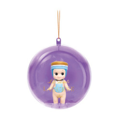 Sonny Angel - Ladurée Christmas Ornament - Macaron Jardin Bleu