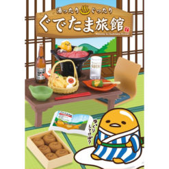 Re-Ment Miniatuur – Welcome to Gudetama Ryokan (Blind Box)